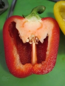 Happy Red Pepper is happy!