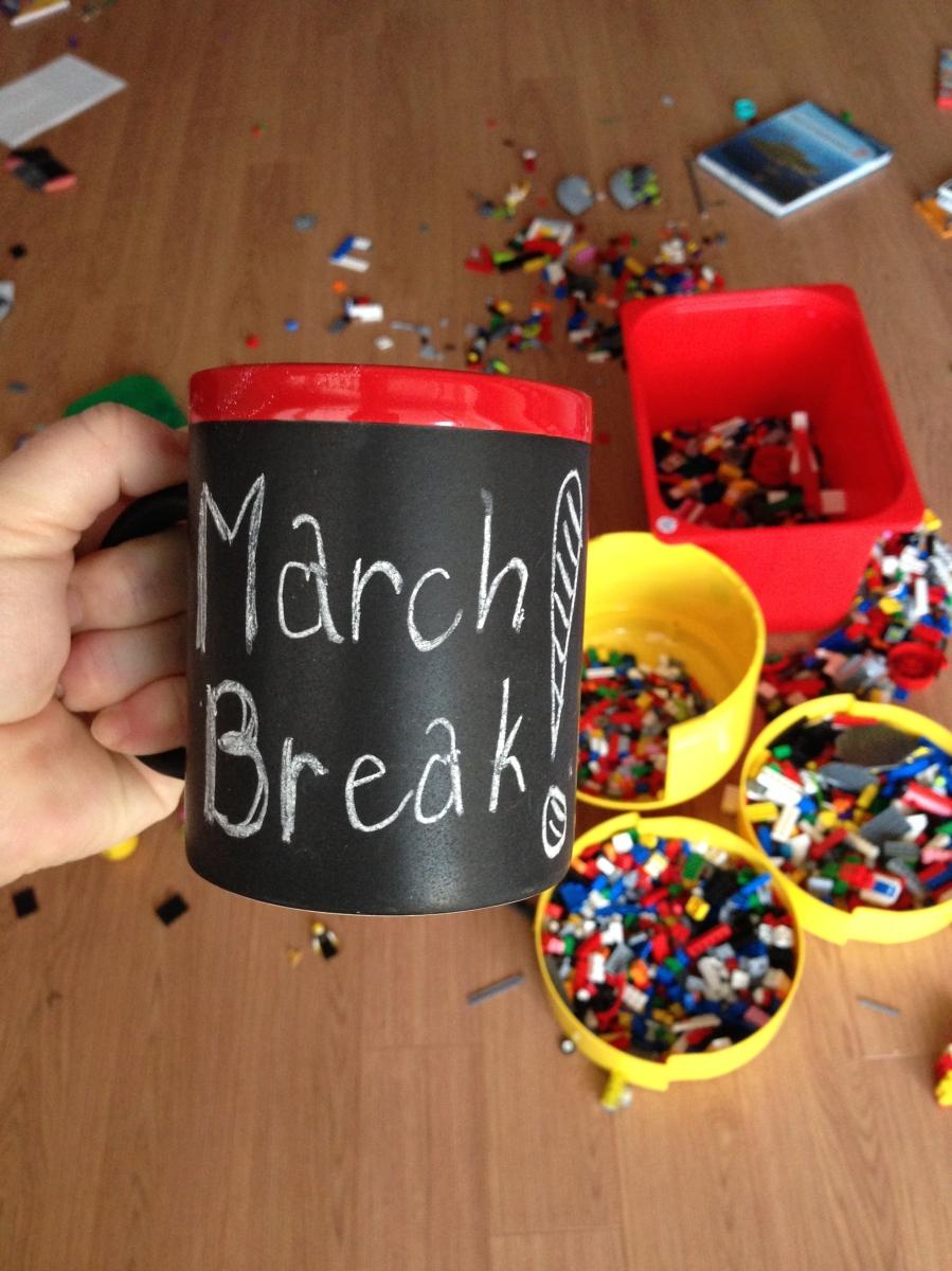 March Break Mug