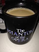 *sings* The Phantom of the coffee mug! Saturdays are best.