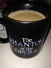 *sings* The Phantom of the coffee mug! Saturdays are best.