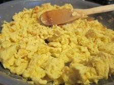 Scrambled huevos! Easy peasy on a busy night.