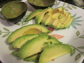 See? Isn't that easy? No avocado fingers, either. Which, really, I was conflicted about.