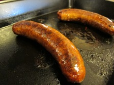 The Chorizo turned out great! I know lots of people would cook it a different way, but this worked for me.