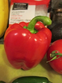 Perfect red pepper from Pete's!