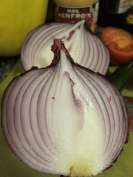 Red onions are cool, aren't they?