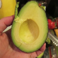 I love a perfect avocado. It always feels like a little win.