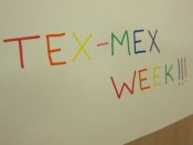 "And that's how we do ""Tex-Mex Week"" at Chez Peady!"
