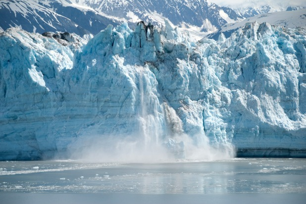glacier parenting ice cold falling apart force