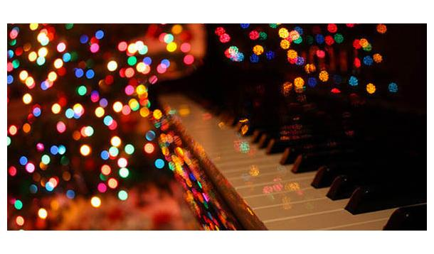 Christmas lights music piano sadness blues
