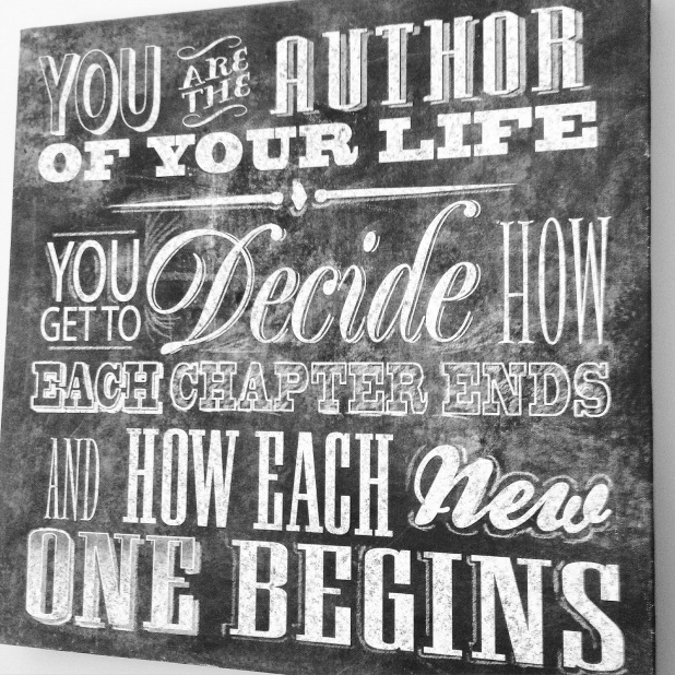 author life direction choices beginning end chapter