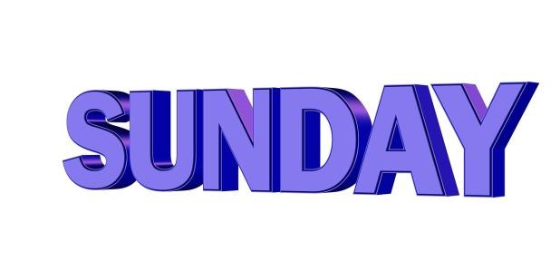 sunday-706913_1280